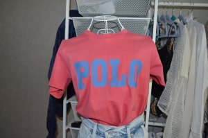 Polo Ralph Lauren T-Shirt in ziegelrot