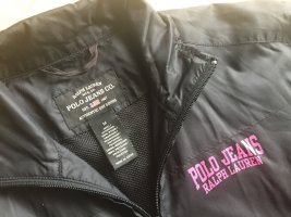 #Polo Ralph Lauren#Windbraker, Biker, schwarz, pink, Gr. S##
