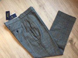 Polo Ralph Lauren Woolen Trousers black-grey wool