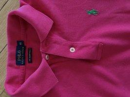 Polo Shirt von Ralph Lauren XS skinny in Pink