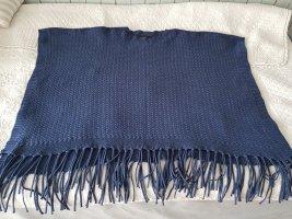 Bonita Poncho steel blue