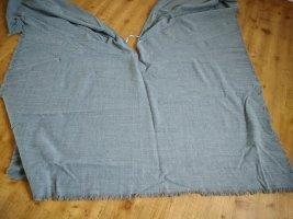 Poncho gris Algodón