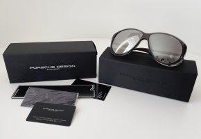 PORSCHE Design Damen Sonnenbrille Silber Verspiegelt