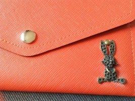 Portemonee Hasi Neu Nini Orange handmade Handarbeit