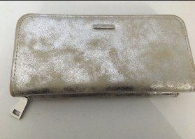 Portemonnaie in Grau/ Silber