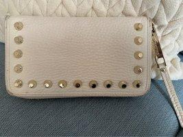Portemonnaie Versace Jeans cremefarben