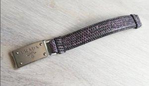 Prada Bransoletka szaro-liliowy