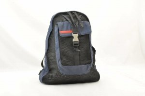 Prada Backpack blue cotton