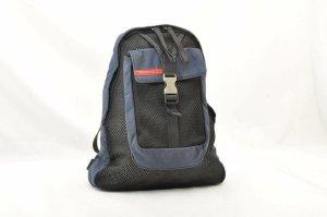 Prada Backpack blue cotton