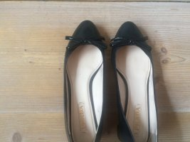 Prada Ballerine en pointe noir