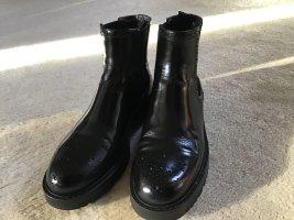 Prada Chelsea laarzen zwart Leer
