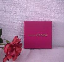 Prada Porte-clés rose-bleuet cuir