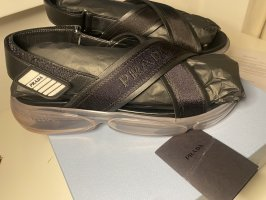 Prada Clog Sandals black