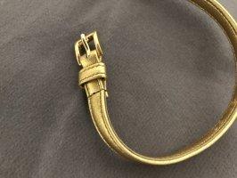 Prada Leather Belt gold-colored