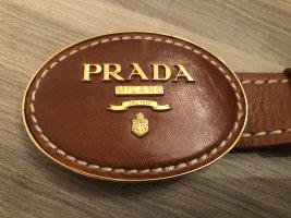 Prada Ceinture de hanches brun cuir