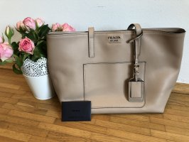 """Prada Handtasche """"Shopping Bag City Calf Cammeo """" nude"""