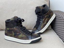 Prada High Ankle Sneaker