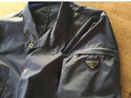 Prada Short Jacket dark blue