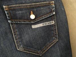 Prada Jeans a 7/8 blu scuro