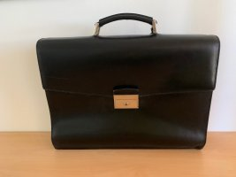 Prada Briefcase black leather