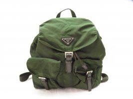 Prada Nylon Backpack Knapsack