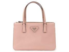 Prada Patent Leather Twin Pocket Handbag