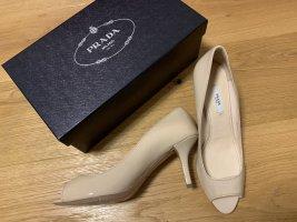 Prada Peeptoe High Heel
