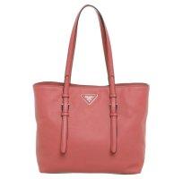 Prada Pinke Shopper Hand Tasche aus Leder