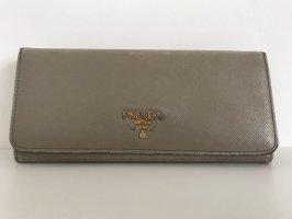 Prada Portafogli grigio-oro Pelle