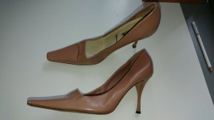 Prada Pumps Gr. 38, Farbe Nude,  Luxus, NP 650 €