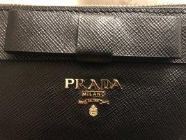 Prada Clutch black leather