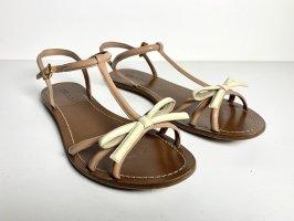 Prada Sandały outdoor beżowy-kremowy