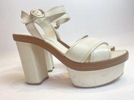 Prada Schuhe Gr. 37,5 weiß