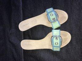 Prada Schuhe Sandalen 41 passend zu Just Cavalli Kleid