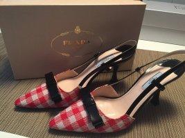 Prada Schuhe Wie Neu! Rot und Weiß