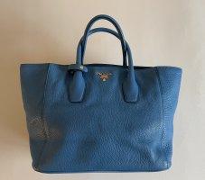 Prada Sac Baril bleu fluo