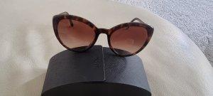 Prada Oval Sunglasses brown