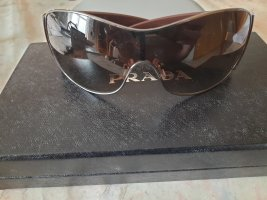 Prada Butterfly Glasses cognac-coloured