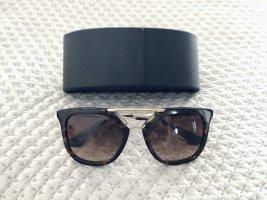 Prada Sonnenbrille Braun Schwarz Hornoptik