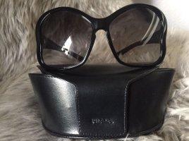 Prada Sonnenbrille Butterfly schwarz