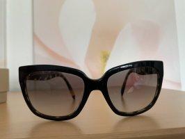Prada Gafas de sol cuadradas negro-marrón