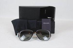 PRADA Sonnenbrille schwarz weiß