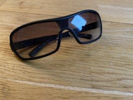 Prada Gafas Retro negro-marrón
