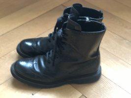 Prada Aanrijg laarzen zwart Leer