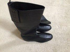 Prada Winter Boots black leather