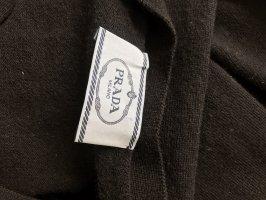 Prada Giacca in maglia nero Lana