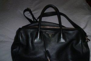 Prada Bolso con correa negro Cuero