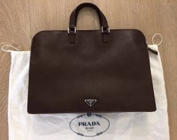 Prada Porte-documents multicolore cuir