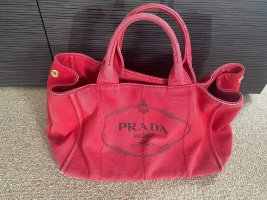 Prada Shopper rouge-noir