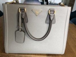 Prada Tasche Saffiano Lux Taube/ grau